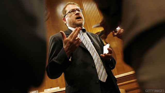 Democrats pounce on Norquist visit to Capitol Hill