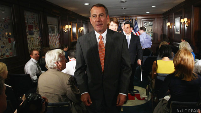 Boehner to GOP members: 'Get your ass in line'
