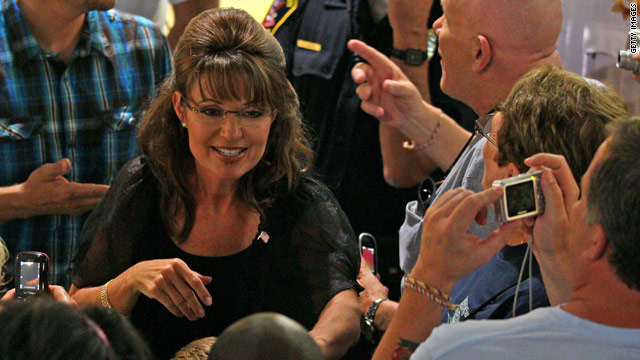 Palin returning to Iowa as her film hits TV screens