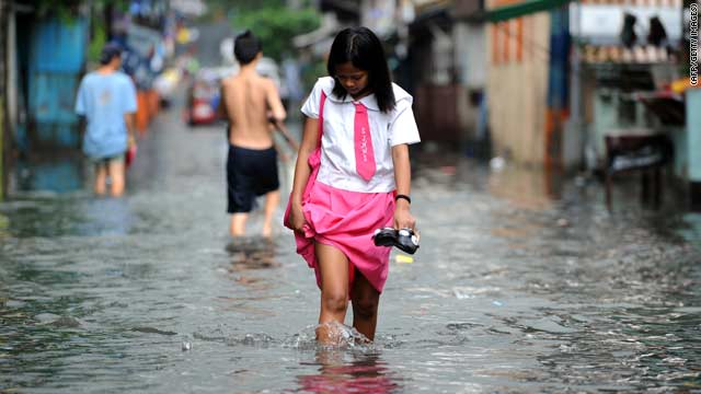 La tormenta tropical Juaning deja 27 muertos en Filipinas