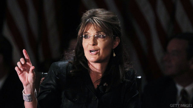 Palin: Obama's 'fear mongering'