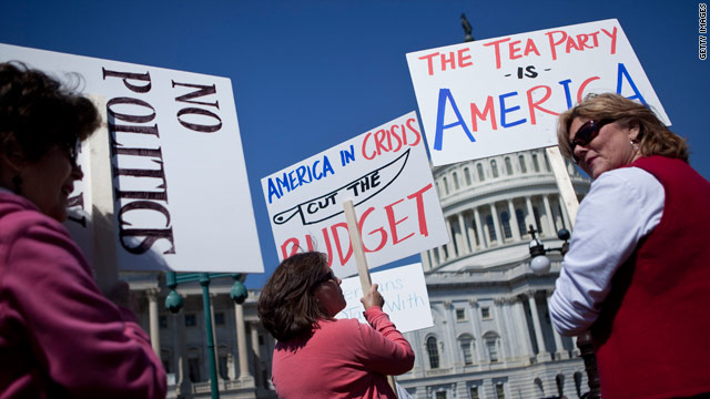 The tea party's big moment