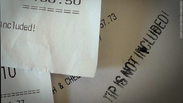 Tipping your waiter may be in your genes