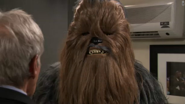 Han Solo, Chewbacca settle feud on 'Jimmy Kimmel Live'