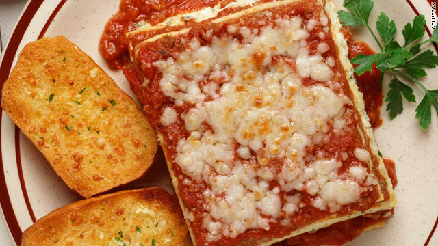 Breakfast buffet: National lasagna day