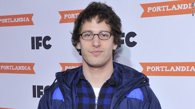 Presenting Andy Samberg, Chief Shark Officer