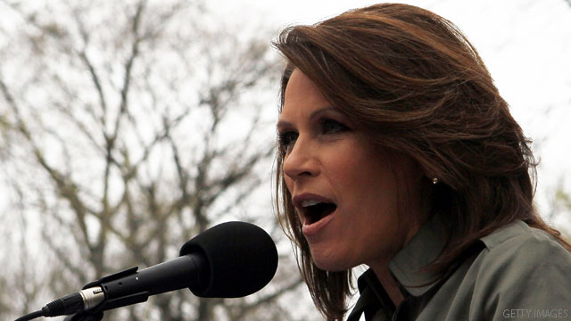 Bachmann warns of 'dictator' Obama