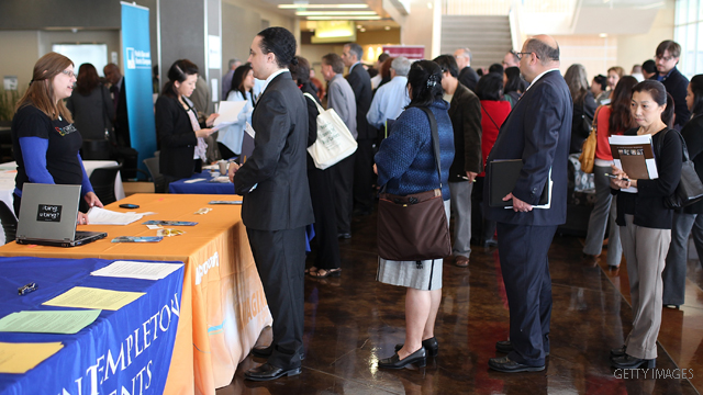 Unemployment claims drop below 400,000