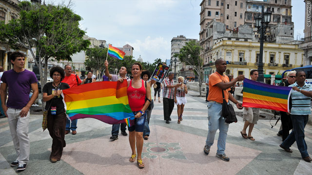 Cuba: For macho island, a shift on civil unions
