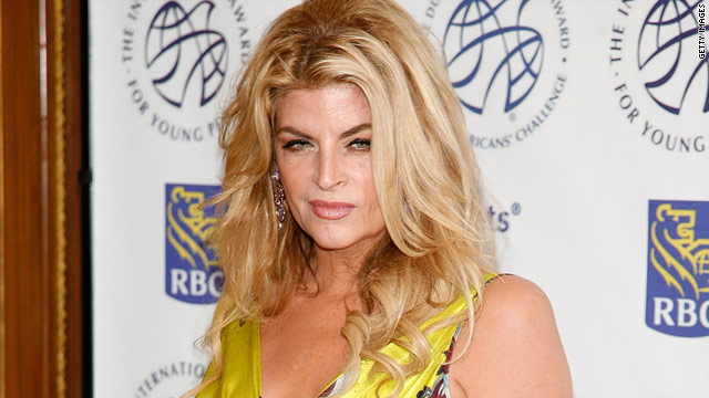 Kirstie Alley confronts Letterman over fat jokes