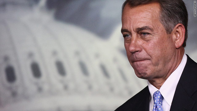 Boehner: Woke up happy