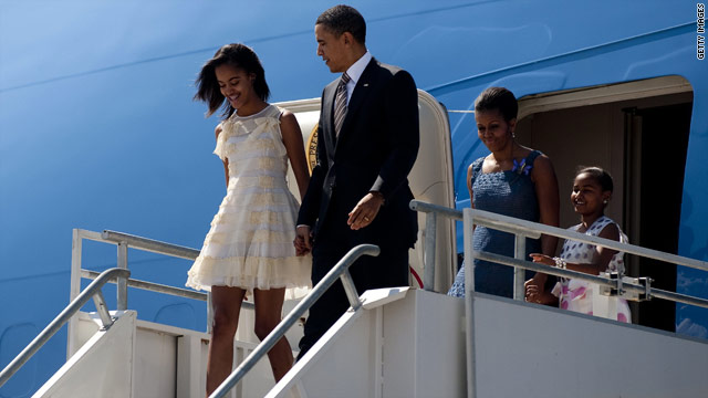 Obama outlines ideal first car for Malia