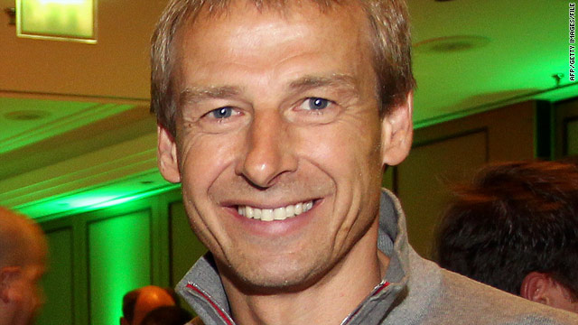 U.S. Soccer names ex-German skipper Jürgen Klinsmann as national team coach