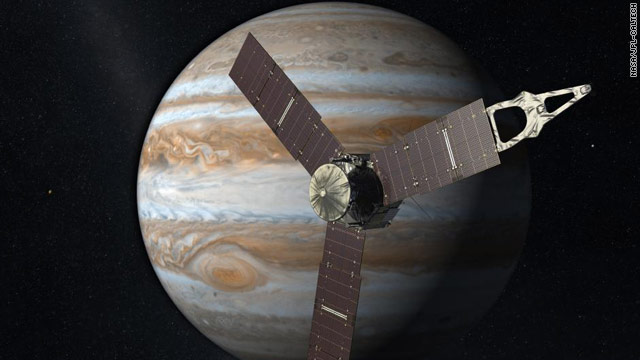 5-year cruise to Jupiter to begin
