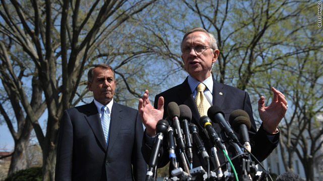 Boehner vs. Reid bills: Where they meet