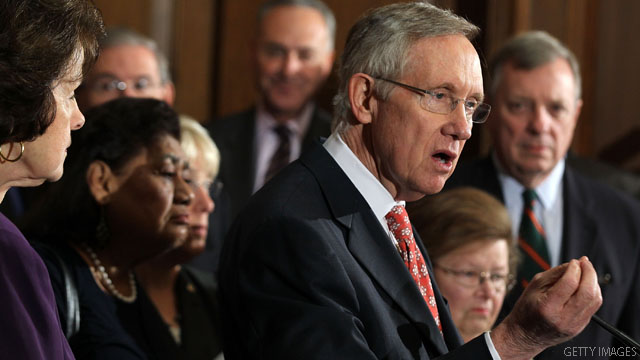 Senate Republicans block Reid bill