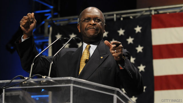 Cain wins Denver straw poll