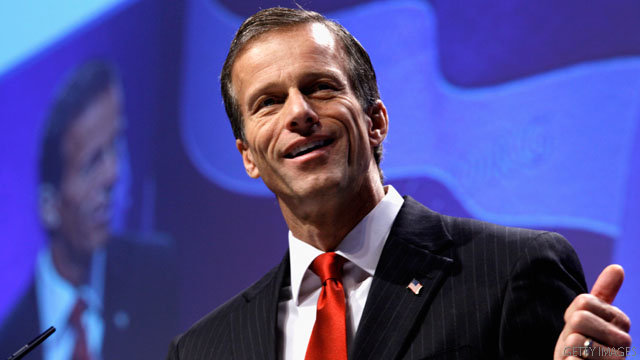 Thune leaves V.P. door open