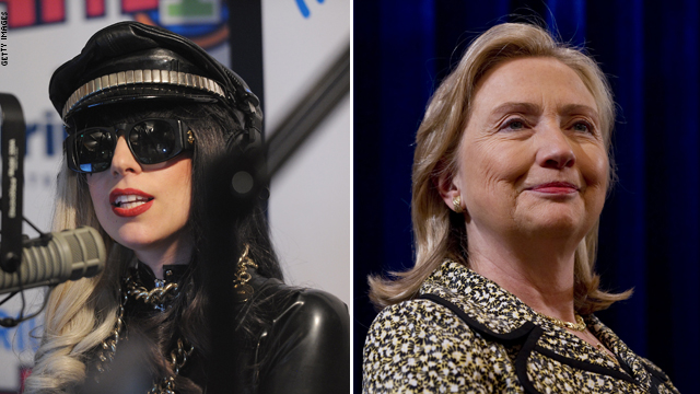 Gaga on Clinton: Leave her alone