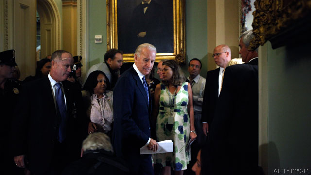 Biden hits the Hill