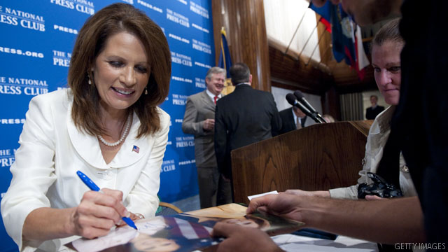 Bachmann cuts Iowa swing short