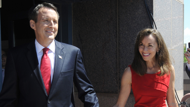 Pawlenty's wife deploys to NH