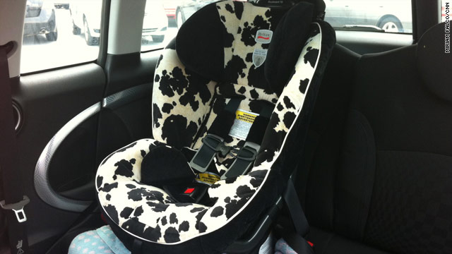 Kids' car seat tests reveal chemicals