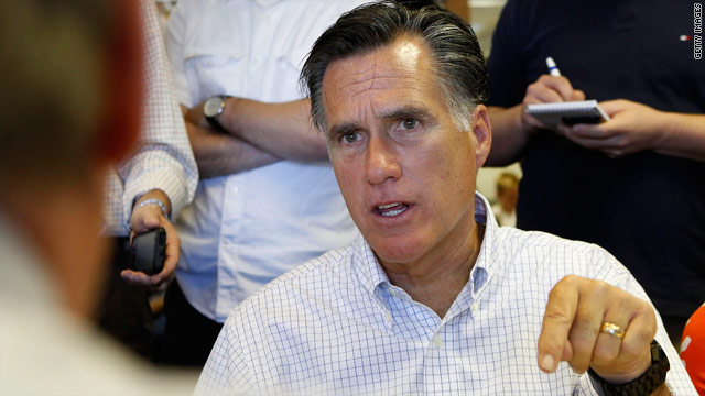 Got Mitt? Romney critics milk debt ceiling issue