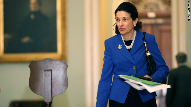 Snowe hit for debt ceiling vote