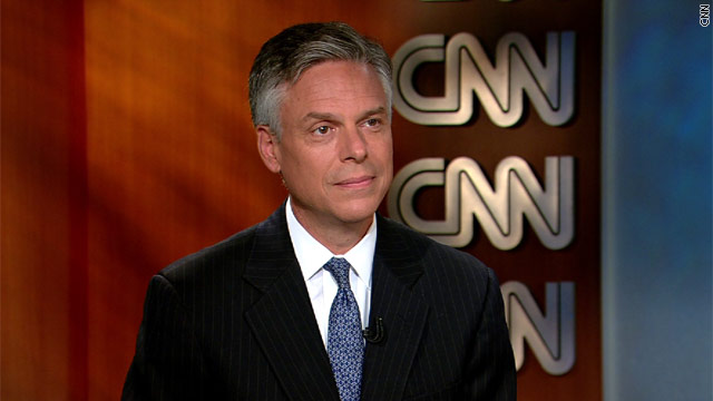 BLITZERS BLOG: Jon Huntsman stakes out positions on gay marriage, debt ceiling