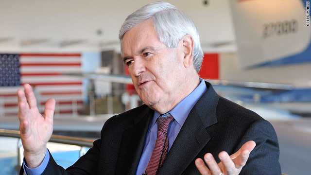 Gingrich walked into restaurant, landed TV role