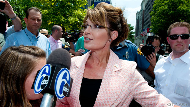 Palin's 'domestic terrorist' punch to Obama