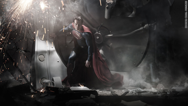 A first look at the new 'Man of Steel'