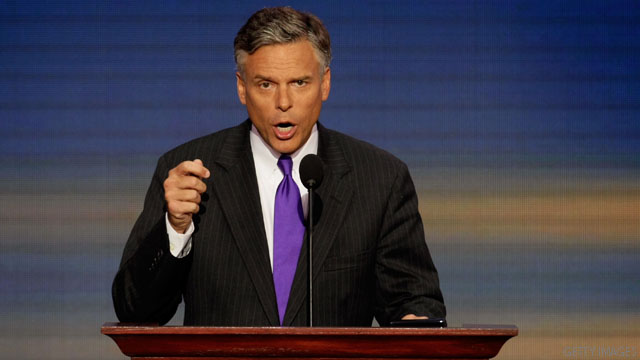 Huntsman takes on criticism