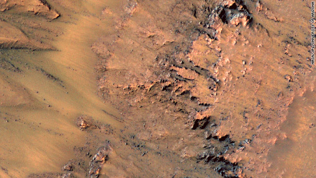 Mars may have flowing saltwater, study says