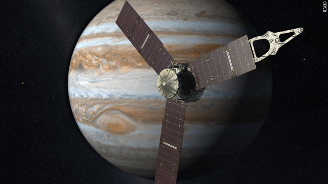 NASA launches satellite mission to Jupiter