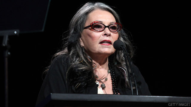 Roseanne sets sights on White House