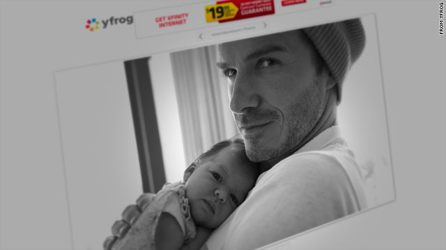 Is baby Harper Seven latest Beckham model?