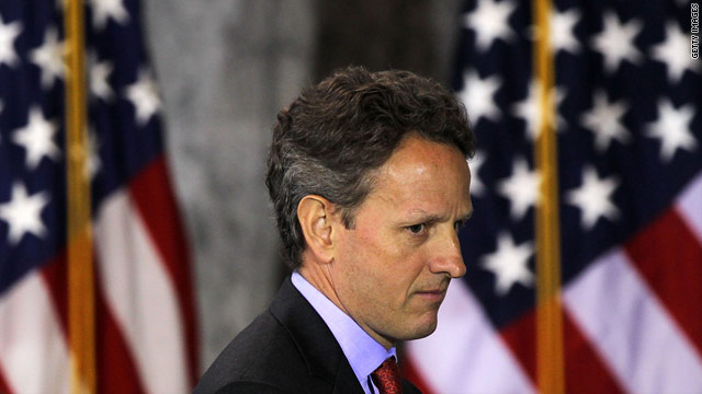 RNC to Obama: Fire Geithner