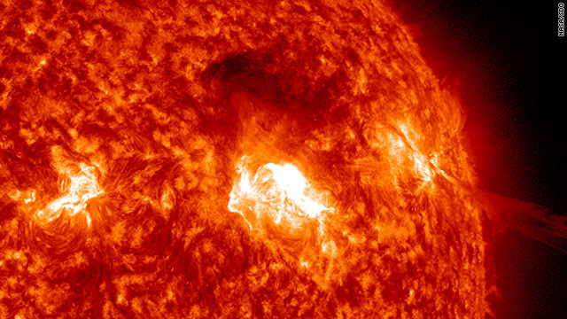 Solar explosions could impact Earth