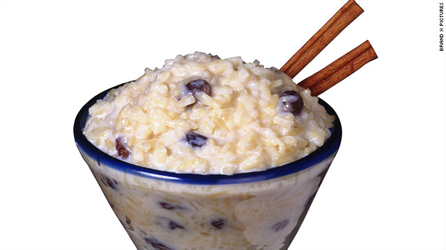 Breakfast buffet: National rice pudding day