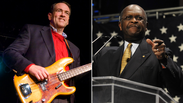 TRENDING: Musical stylings of Huckabee and Cain