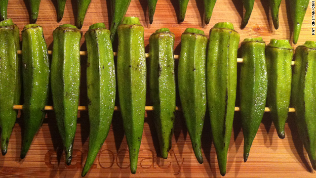 Okra - in season and &#039;snot just for frying