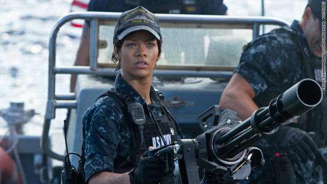 Photos: Rihanna in 'Battleship,' Jennifer Lawrence in 'Hunger Games'
