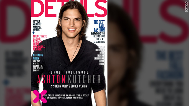 Ashton Kutcher talks tech, 'Two and a Half Men'