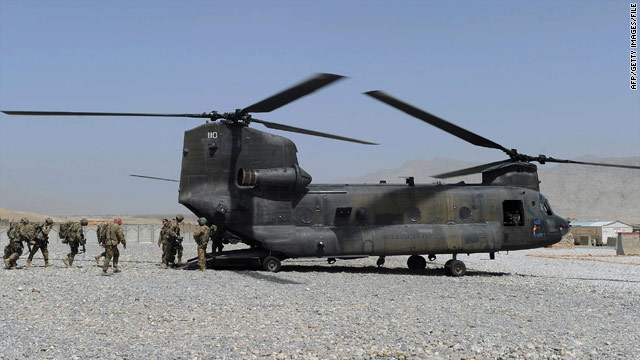 NATO: Taliban who brought down copter killed