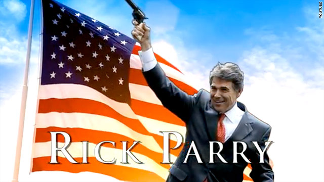 Stephen Colbert backs Rick 'Parry' for prez