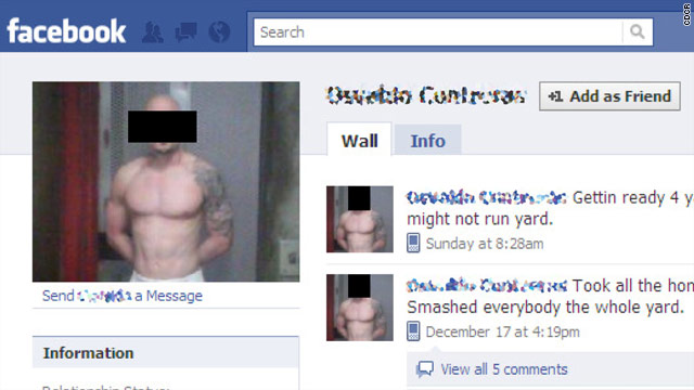 Inmates on Facebook? Active profiles of California prisoners getting yanked