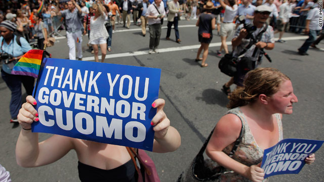 Poll: New Yorkers want same-sex marriage law to stay put
