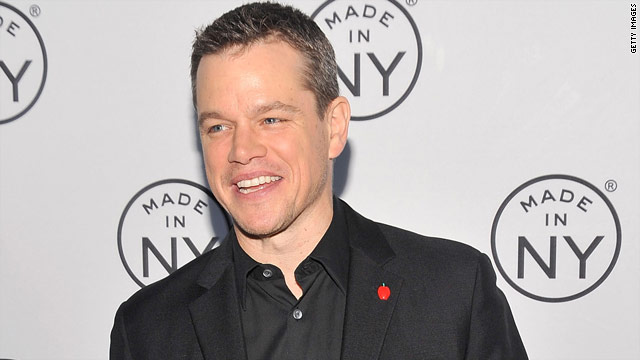 Could Matt Damon run for president?